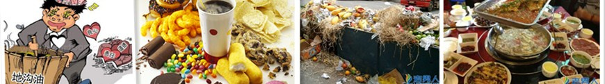 food wastes recycle system